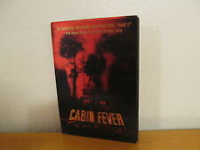 Cabin Fever (DVD, 2004) - Eli Roth - with 3D Lenticular Slipcover - Mint