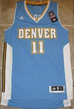 Adidas Swingman NBA Jersey Nuggets Chris Andersen Light Blue sz 2X