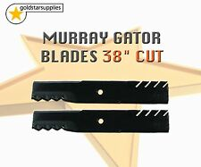 "2 x Heavy Duty Gator BLADES To suit selected MURRAY 38"" Cut Ride On Mowers"