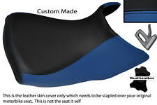 BLUE & BLACK CUSTOM FITS BMW R 1200 GS FRONT RIDER  04-12 LOW SEAT COVER