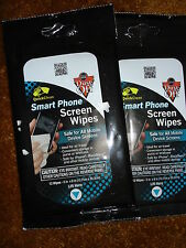 QUICK CLEAN SMART PHONE SCREEN WIPES LOT OF 2
