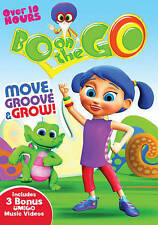 Bo on the Go: Move, Groove & Grow! (DVD, 2014, 3-Disc Set) New Kid's Show