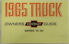 1965 1965  Chevy Chevrolet truck Owners manual glove box