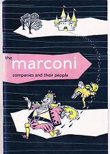 THE MARCONI COMPANIES AND THEIR PEOPLE 45 PAGES DECEMBER 1958