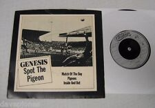 "GENESIS Spot The Pigeon EP 3 track 1977 UK Charisma records 7"" & PS (GEN 001)"