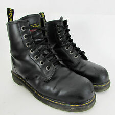 Mens Dr Martens Leather Industrial Steel Toe Cap Safety Boots UK 9 EU 43