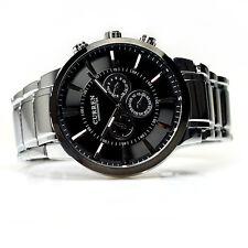 Neu Luxus CURREN Herren Mode Uhren Edelstahl Date Sport Analog Quartz Armbanduhr