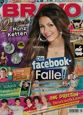 Magazin Bravo 42/2011,Victoria Justice,Simpsons,Selena Gomez,One Direction,Sido