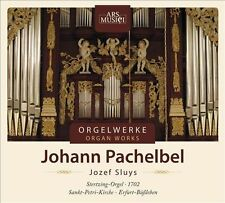 NEW - Organ Works by Pachelbel, J.
