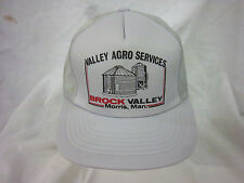trucker hat baseball cap VALLEY ARGO SERVICES retro snapback cool mesh 1980 rare