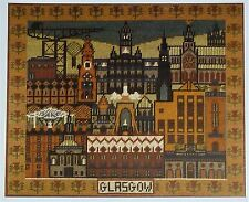 Dundonald Designs-Pattern of Glasgow-Tapisserie/Tapisserie Kit-Vintage