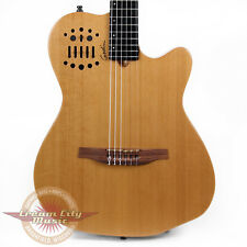 Brand New Godin Multiac ACS-SA Slim Nylon Cedar Acoustic-Electric Guitar Natural