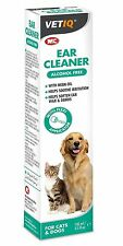 M&C Ear Cleaner for Cats & Dogs 100ml Ear Solution Neem Oil Soothe Irritation
