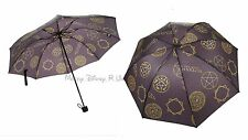 New Supernatural Anti-Possession Symbols Print Design Compact Rain Umbrella
