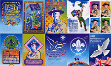 21st world scout jamboree 25 POSTCARDS & ENVELOPE- COMPLETE SET