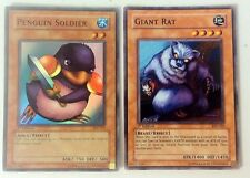 YuGiOh! Penguin Soldier & Giant Rat 1st Edition
