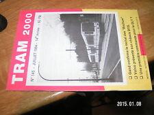 TRAM 2000 n°145 STIB  TEC   De Lijn ...