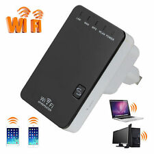 300Mbps Wireless-N Mini WiFi Repeater Router Range Extender Amplifier US Plug