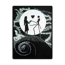 "Brand New Soft The Nightmare Before Christmas Throw Blanket 58"" x 80"" Inch"