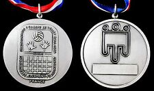 EUROPEAN JUNIORS VOLEYBALL CHAMPIONSHIPS 1984 FRANCE PARTICIPANT BRONZE MEDAL
