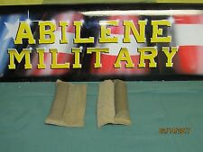 USMC MODULAR TACTICAL VEST SHOULDER STOCK STOP COYOTE VERY GOOD 2 EACH