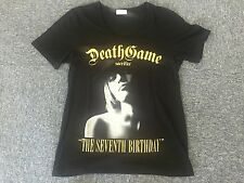 VERY RARE the GazettE BLACK MORAL T-Shirt Death Game 7th Anniversary M Size