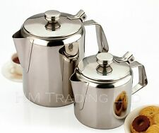 70 OZ / 2.1 LitresTeapot Stainless Steel Tea Coffee Pot