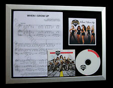 PUSSYCAT DOLLS When I Grow Up QUALITY CD LTD FRAMED DISPLAY+EXPRESS GLOBAL SHIP