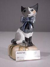 +# A006796 Goebel Archiv Wachtmeister Katze Cat Lucia mit Musikwerk 66-973