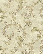 """12""""/31cm Wallpaper SAMPLE Elegant Acanthus"""