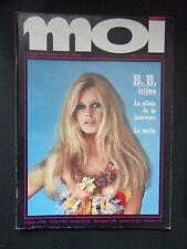 MOI n° 3 / 1969 B.BARDOT-PATTY BRAVO- EROTIQUE/NUE (genre LUI)