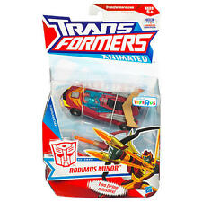 Transformers Animated Deluxe Class Autobot Rodimus Minor New 2010 Exclusive