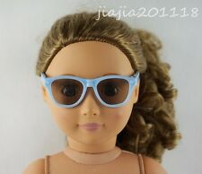 Blue Glasses Sunglasses Goggles For 18'' American Girl Dolls Gifts