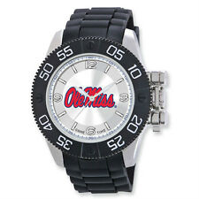 "NIB Ole Miss Mens University of Mississippi ""Beast"" Watch by Game Time"