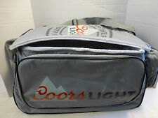 Coors Light Rolling Duffle Cooler NEW Wheels Handle Mancave