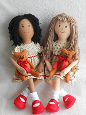 Primitive large rag doll 'Lottie' sewing pattern
