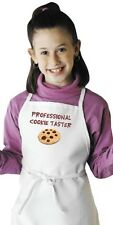 Funny Child's Apron Professional Cookie Taster Novelty Kids Aprons by CoolAprons