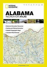 National Geographic Alabama Recreation Atlas Map Road & Topo Maps ST01020701