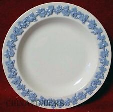 WEDGWOOD china QUEENSWARE Lavender On Cream Plain Salad or Dessert Plate 8-1/8""