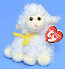 Ty Beanie Babies Basket Beanies - Easter Floxy The Sheep - New With Tag