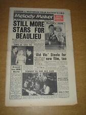 MELODY MAKER 1960 MAY 28 BEAULIEU JAZZ FESTIVAL TOMMY STEELE BRUCE FORSYTH +