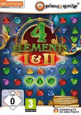 PC Computer Spiel ***** Four * 4 Elements 1 + 2 * 1 & 2 * und ***********NEU*NEW