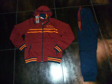 FW13 AS ROMA 14 ANNI TUTA FELPATA BAMBINO JUNIOR TRACKSUIT CHANDAL SUDADERA RED