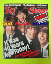 ROLLING STONE USA MAGAZINE 942/2004 Beatles Darkness Buddy Guy Josh Groban No cd