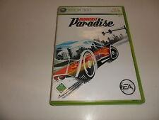 XBox 360  Burnout: Paradise