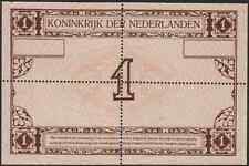 Netherlands 1 gulden 1916 PROOF with perforation, UNC-, Zilverbon, Pick 9
