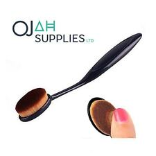 UK Pro Oval Make up Brush Cream Foundation Powder Contour Cosmetic Kabuki Tool