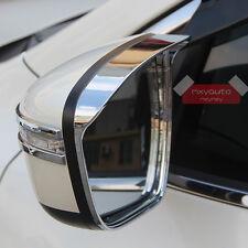 Chrome Door Mirror Rain Snow Guard Sun Visor For Nissan X-trail Rogue 2014 15 16