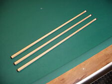 THREE (3) WOBBLE SHAFTS 5/16x18 FITS MEUCCI cue billiards pool 812-16