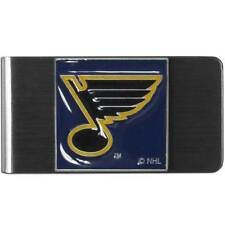 St. Louis Blues Stainless Steel Money Clip Holder Licensed NHL Hockey Pride Gift